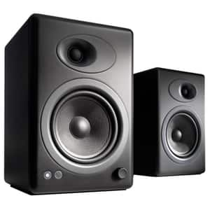 Boxe AUDIOENGINE A5+, 150W RMS, Bluetooth, negru