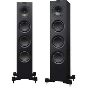 Boxe de podea KEF Q550, 130W, Hi-Fi, negru