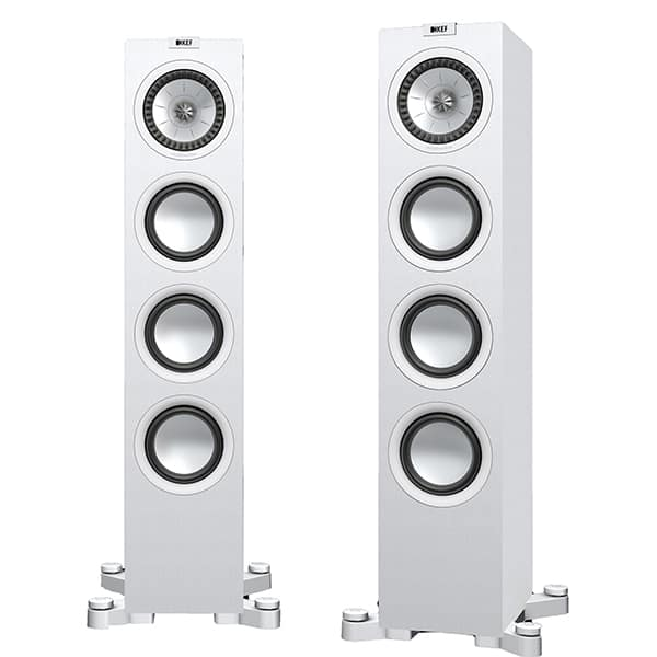 Boxe de podea KEF Q550, 130W, Hi-Fi, alb