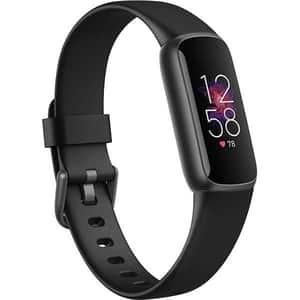Bratara fitness FITBIT Luxe, Android/iOS, silicon, Black / Graphite