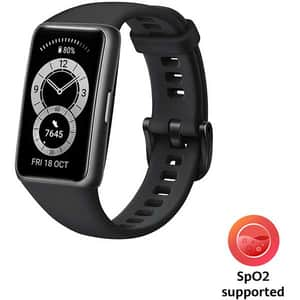 Bratara fitness HUAWEI Band 6, Android/iOS, silicon, Graphite Black