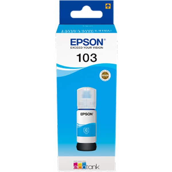 Cerneala EPSON 103 EcoTank C13T00S24A, cyan