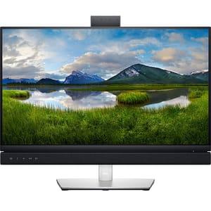 """Monitor LED IPS DELL C2422HE, 23.8"""", Full HD, 60Hz, Webcam, gri"""