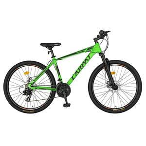"Bicicleta MTB CARPAT C2658CVN, 26"", cadru aluminiu, verde-negru"
