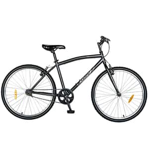 """Bicicleta City CARPAT C2691A, 26"""", cadru otel, negru-gri"""