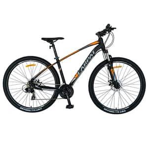 "Bicicleta Mountain Bike CARPAT C2757C 27.5"", Aluminiu, negru-portocaliu"