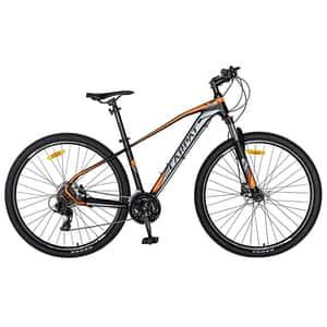 """Biciclata Mountain Bike-HT CARPAT C2959H, 29"""", cadru aluminiu, negru-portocaliu"""