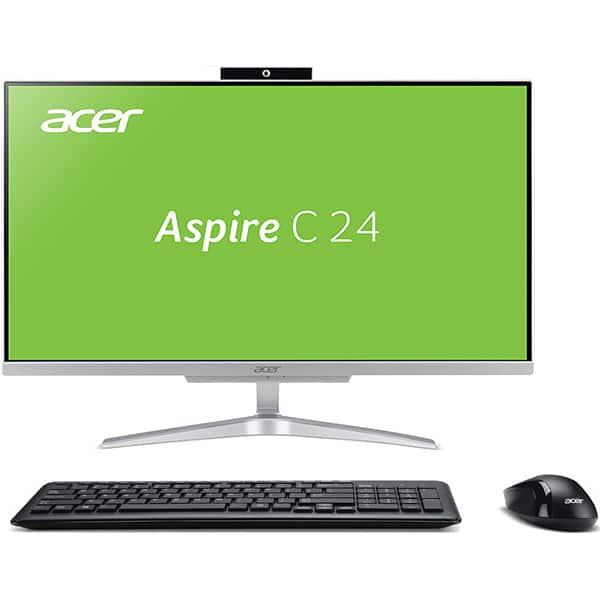"Sistem PC All in One ACER Aspire C24-865, Intel Core i3-8130U pana la 3.4GHz, 23.8"" Full HD, 4GB, 1TB, Intel UHD Graphics 620, Linux"