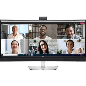 """Monitor curbat LED VA DELL C3422WE, 34"""", WQHD, 60Hz, Webcam, gri"""