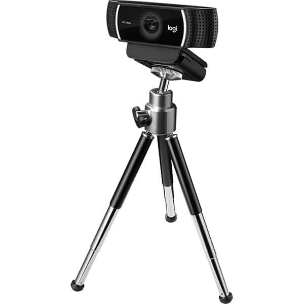 Camera Web LOGITECH Pro Stream C922, Full HD 1080p, negru