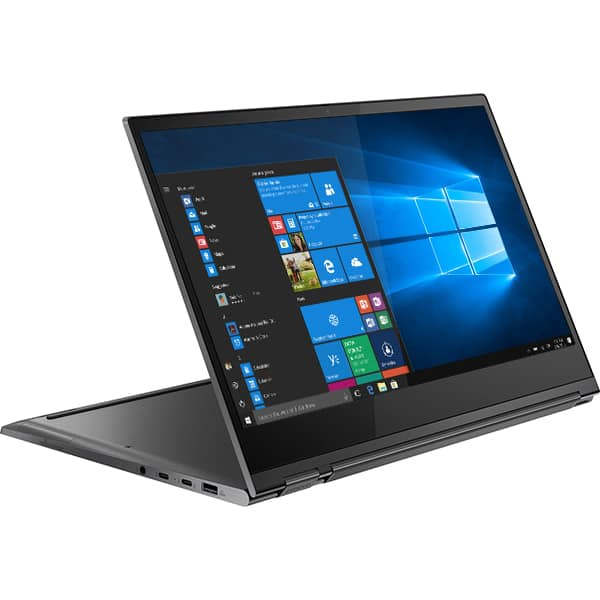 "Laptop 2 in 1 LENOVO Yoga C930-13IKB, Intel® Core™ i7-8550U pana la 4.0GHz, 13.9"" Full HD Touch, SSD 512GB, 8GB,  Intel® UHD Graphics 620 , Windows 10 Home, Iron Grey"