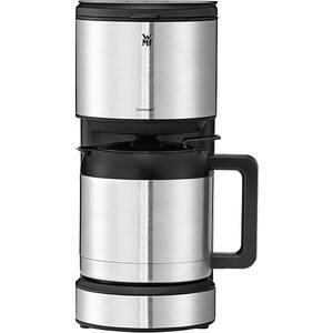 Cafetiera WMF Stelio 412160011, 1l, 1000W, 8 cesti, argintiu-negru
