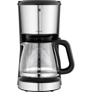 Cafetiera WMF Bueno 412250011, 1.25l, 1000W, 10 cesti, argintiu-negru