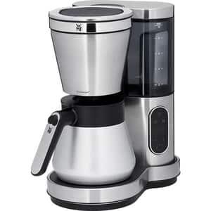Cafetiera WMF Lumero 412160011, 1.25l, 760W, argintiu-negru