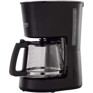 Cafetiera BEKO CFM4350B, 1.25l, 900W, negru