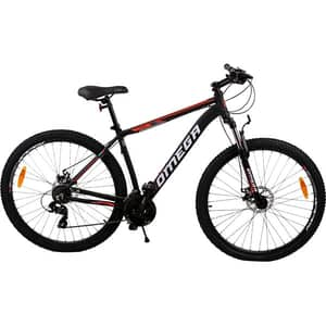 "Bicicleta de munte OMEGA Camino, 29"", cadru aluminiu, negru"