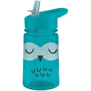 Sticla ALADDIN Zoo Flip&Sip 1008541002, 0.43l, plastic, albastru