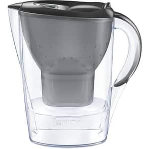 Cana filtranta BRITA Marella + 3 filtre Maxtra+ BR1039274, 2.4l, gri-transparent
