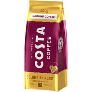 Cafea macinata COSTA COFFEE Colombian Roast 30184, 200g
