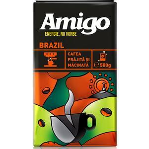 Cafea macinata AMIGO Brasil 304905, 500g