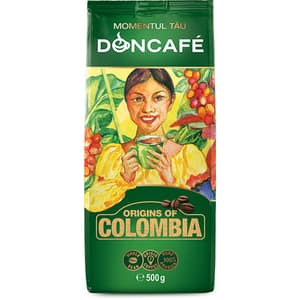 Cafea boabe DONCAFE Columbia, 500g