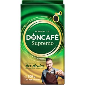 Cafea macinata DONCAFE Supremo 304939, 500g