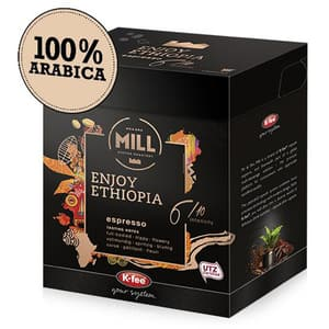 Capsule cafea MR & MRS MILL Enjoy Ethiopia compatibilitate cu Tchibo, 12 capsule, 93g