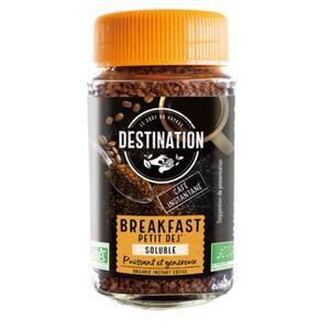 Cafea instant DESTINATION Breakfast Bio NV000006, 100g