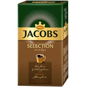 Cafea macinata JACOBS Selection Intense, 500g