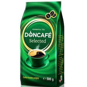 Cafea boabe DONCAFE Selected 304344, 500g