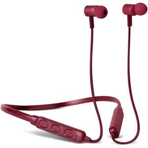 Casti FRESH 'N REBEL Band-it, Bluetooth, In-ear, Microfon, Noise Cancelling, Ruby Red