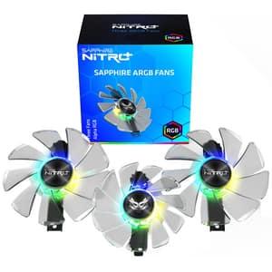 Ventilatoare SAPPHIRE ARGB Nitro+ RX5700, 2x95mm, 1x87mm, 4N004-03-20G