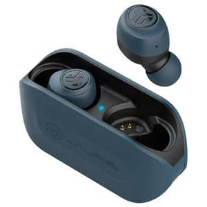 Casti JLAB GO Air, True Wireless, Bluetooth, In-Ear, Microfon, albastru