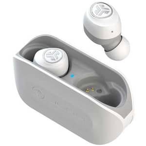 Casti JLAB GO Air, True Wireless, Bluetooth, In-Ear, Microfon, alb