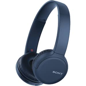 Casti SONY WH-CH510, Bluetooth, On-Ear, Microfon, albastru