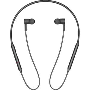 Casti HUAWEI FreeLace CM70-L, Bluetooth, In-Ear, Microfon, Obsidian Black