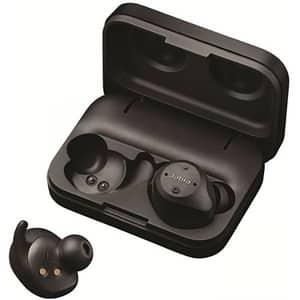 Casti JABRA Elite Sport, True Wireless Bluetooth, In-Ear, Microfon, Noise Cancelling, negru