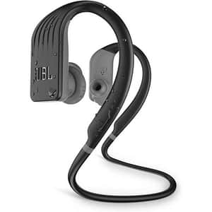 Casti JBL Endurance Jump, Bluetooth, In-ear, Microfon, negru