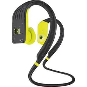 Casti JBL Endurance Jump, Bluetooth, In-ear, Microfon, galben