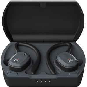 Casti JVC HA-ET45T, True Wireless, Bluetooth, In-Ear, Microfon, negru