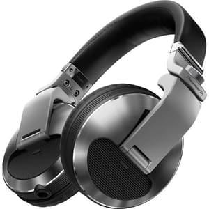 Casti PIONEER DJ HDJ-X10, Cu Fir, Over-Ear, argintiu
