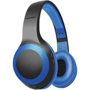 Casti PROMATE LaBoca, Bluetooth, Over-ear, Microfon, albastru