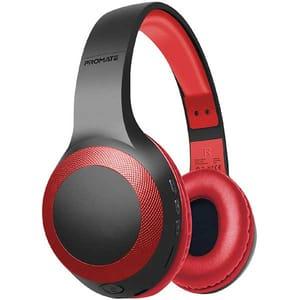 Casti PROMATE LaBoca, Bluetooth, Over-ear, Microfon, rosu