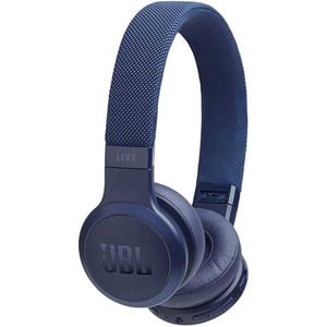 Casti JBL Live 400BT, Bluetooth, On-ear, Microfon, albastru