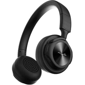 Casti MYRIA MY9049, Bluetooth, On-Ear, Microfon, negru