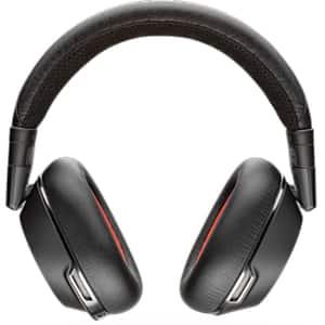 Casti PLANTRONICS Voyager 8200 UC PLB00109, Bluetooth, NFC, On-Ear, Microfon, alb