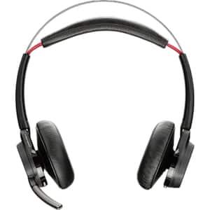 Casti PLANTRONICS Voyager Focus UC B825M PLW00102, Bluetooth, On-Ear, Microfon, negru