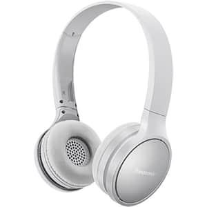 Casti PANASONIC RP-HF410BE, Bluetooth, On-Ear, Microfon, alb