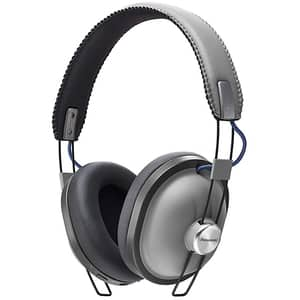 Casti PANASONIC RP-HTX80BE-H, Bluetooth, On-Ear, Microfon, gri