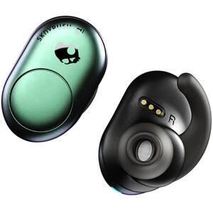 Casti SKULLCANDY Push S2BBW-M714, True Wireless, Bluetooth, In-Ear, Microfon, verde